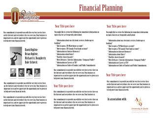 financial documents financial